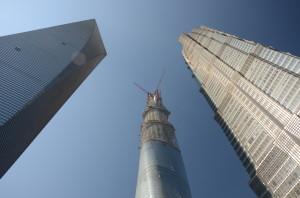 Die höchsten Häuser Shanghais