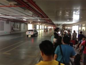 Taxiwarteschlange