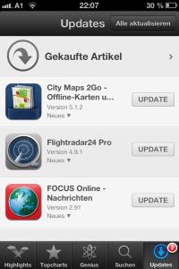 2 Updates für 3