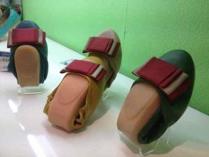 Faltbare Schuhe