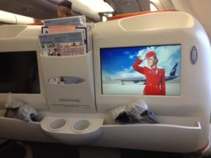 Aeroflot Business Class 03