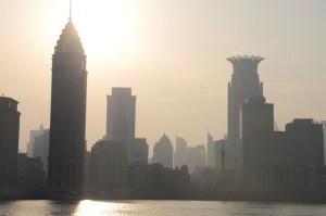 Shanghai Abendsonne