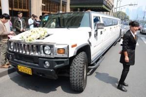 Grosse Hochzeitskutsche