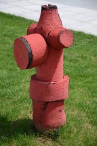 Ummantelter Hydrant