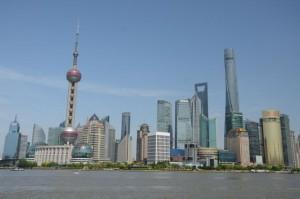 Shanghai in Sonne