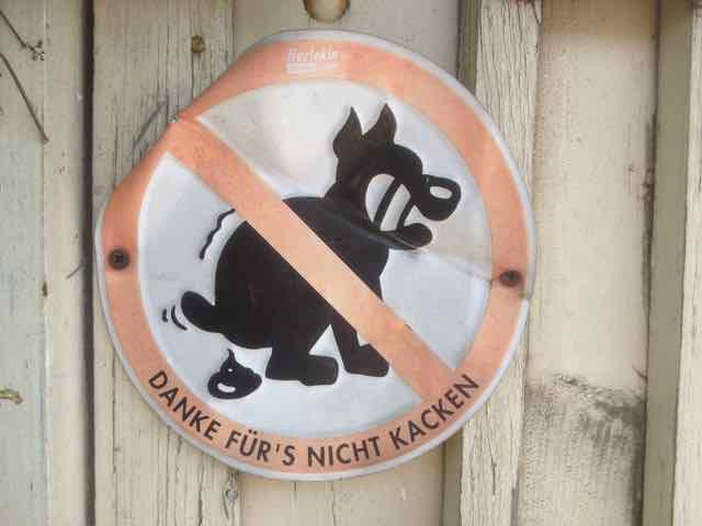 Nicht Kacken