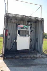 Lettische Tankstelle 2
