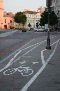 Radwegkennzeichnung